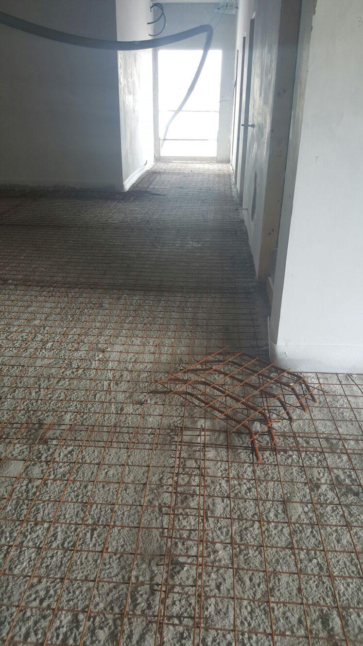 Preparazione per pavimento industriale - Tanimi Costruzioni